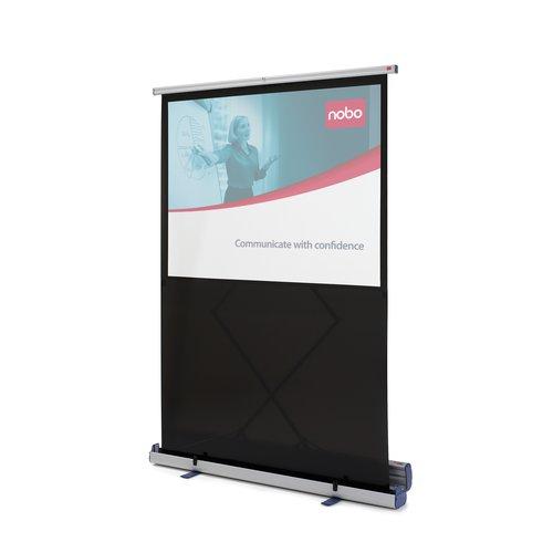 Portable Floorstanding Projection Screen 1620 x 1220mm