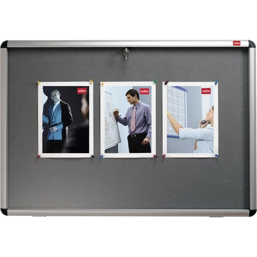 Internal Display Case Grey Felt A0