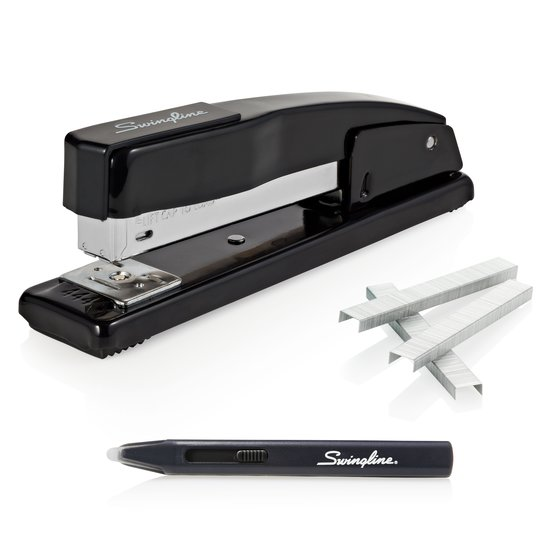 Swingline Commercial Desk Stapler Value Pack, 20 Sheet Stapler, S.F. 4 Premium Staples, Staple Remover