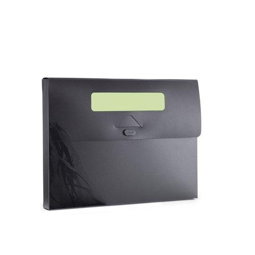 Ecodesk dokumentportfölj, svart