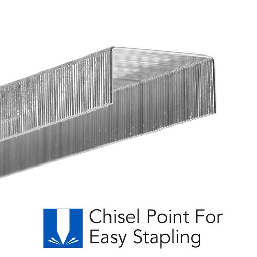 "Swingline® Standard Staples, ¼"" Length, 210 Per Strip, 5000 Per Box, 10 Box Pack"