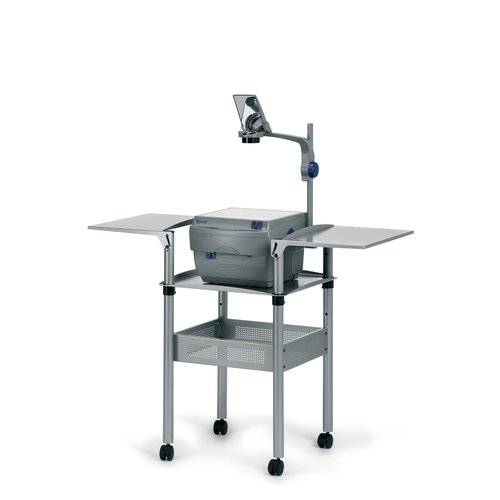 Overhead Projector Trolley with Folding Shelves