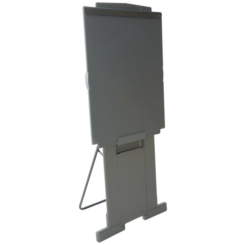 "Quartet® DuraMax® Presentation Easel, 72""H, Whiteboard/Flipchart Holder, Gray"
