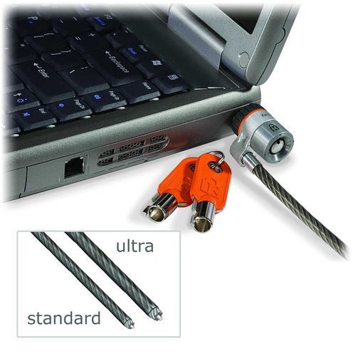 MicroSaver® Ultra Laptop Lock - Single Keyed