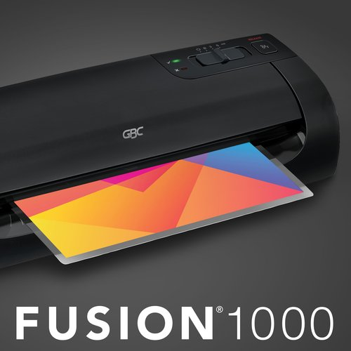 "Swingline™ GBC® Fusion™ 1000L 12"" Laminator, 5 Minute Warm-up, 3 or 5 Mil (up to 4"" x 6"")"