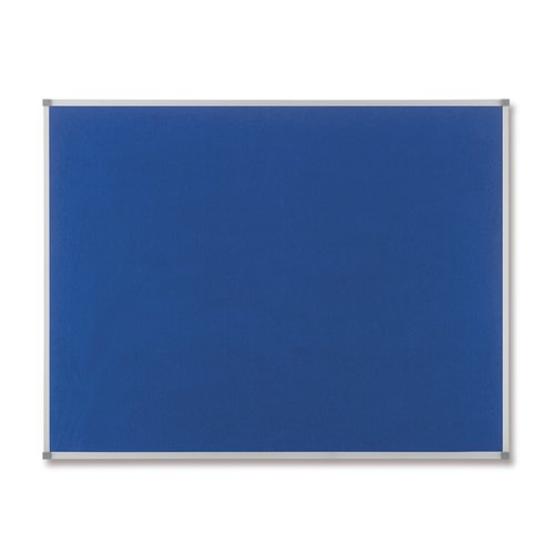 Classic Felt Noticeboard Blue 1800x1200mm