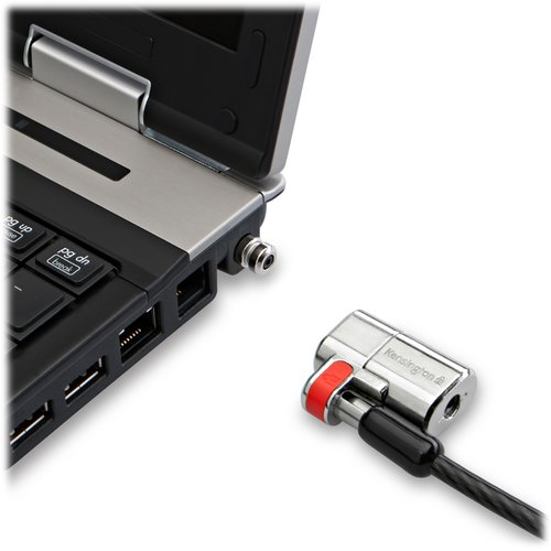 ClickSafe® Twin Laptop Lock - Single Keyed
