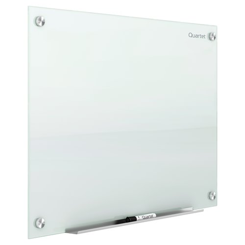 Quartet Infinity™ Magnetic Glass Marker Boards, White Surface