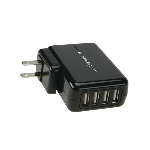 4-Port USB Charger for Mobile Devices