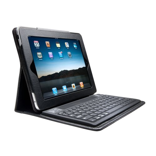 KeyFolio™ Case with Bluetooth® Keyboard for iPad & iPad 2