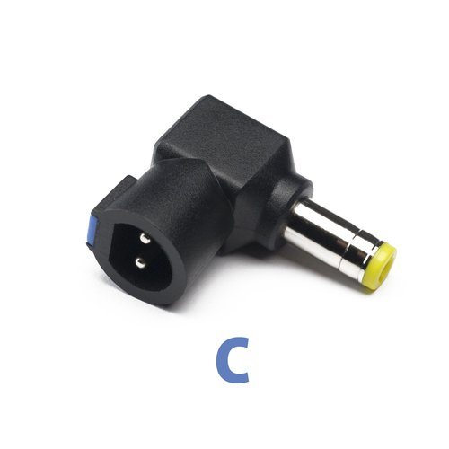 Laptop Power Adapter Compatibility Tip C
