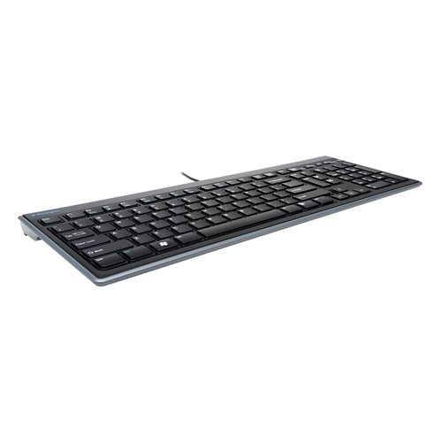 Teclado fino Advance Fit™ tamaño normal