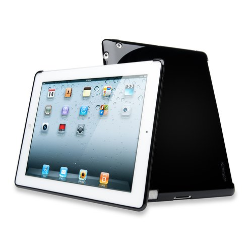 Protective Back Cover iPad® 4th gen, 3rd gen & iPad 2 -Black