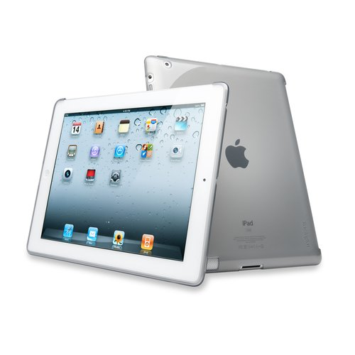 Protective Back Cover iPad® 4th gen, 3rd gen & iPad 2 -Tran