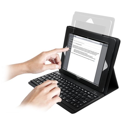 KeyFolio™ Pro Performance Keyboard Case for iPad® 2