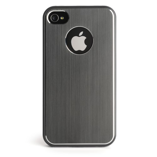 Grey Aluminium Finish Case for iPhone 4 & 4S