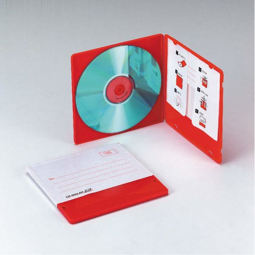 CD Mailer With Address Label - 10