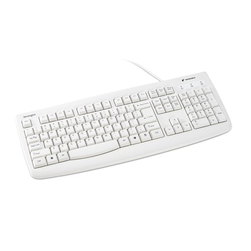 Pro Fit™ USB Washable Keyboard - White