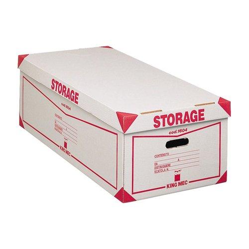 Storage Contenitore Con Coperchio Per 8 Scatole Archivio
