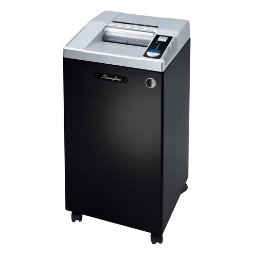 Swingline® TAA Compliant CM15-30 Micro-Cut Commercial Shredder, Jam-Stopper®, 15 Sheets, 20+ Users