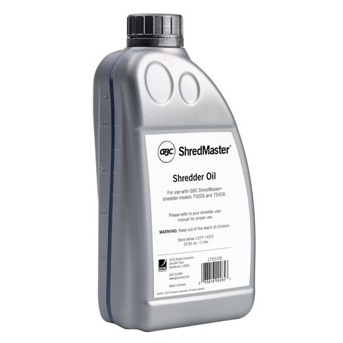 Shredder Oil 7500S/7550X