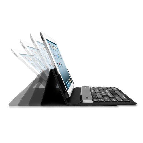 KeyFolio™ Expert Multi Angle Folio & Keyboard for new iPad®