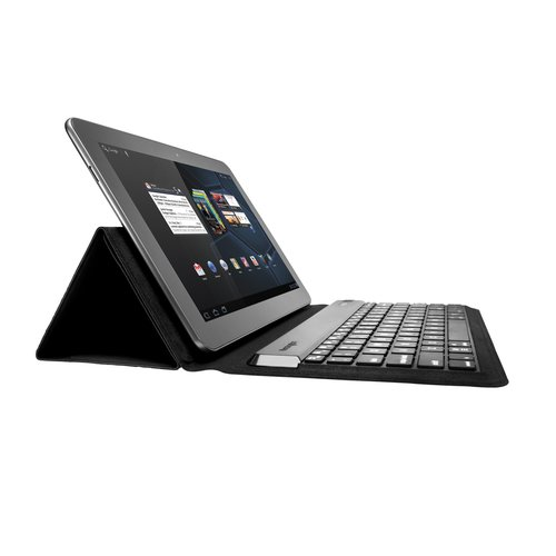 KeyFolio™ Expert Multi Angle Folio & Keyboard for Android and Windows 8 Tablets