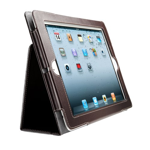 Folio Case for iPad® 4th gen, 3rd gen & iPad 2 - Brown