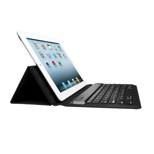 KeyFolio™ Expert Multi Angle Folio & Keyboard for iPad, iPad 2 and the new iPad