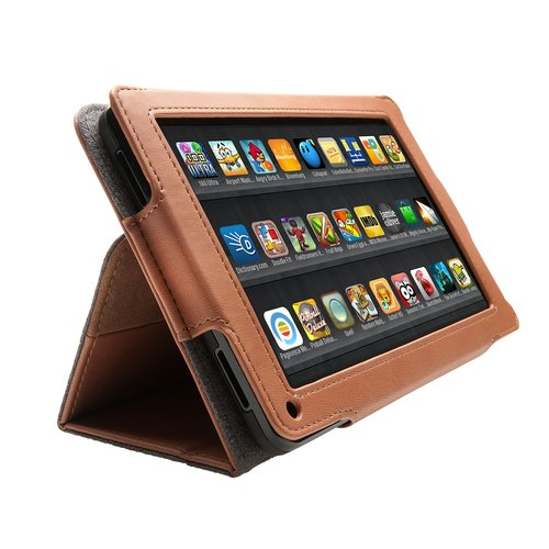 Folio Case for Kindle® Fire (Brown)
