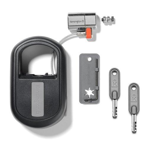Lucchetto riavvolgibile con chiave ClickSafe® per notebook