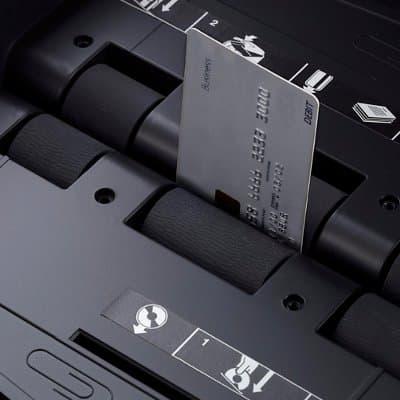 Securely Destroys Credit Cards