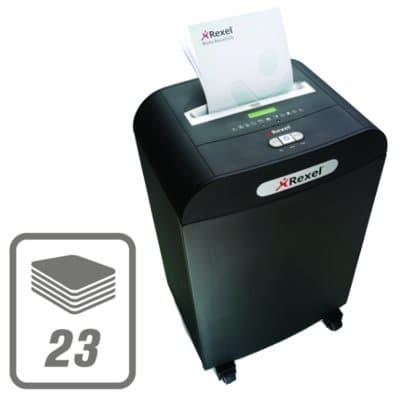 23-Sheet Capacity