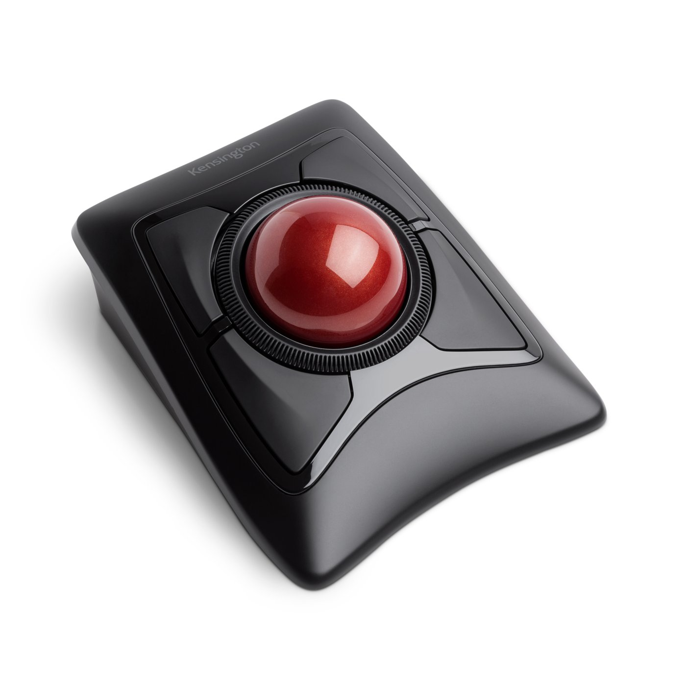 comparing the differences between the mouse and a trackball (therefore the only difference between this and a mouse is using the thumb, rather than hand the stressfulness of using a mouse, or trackball.