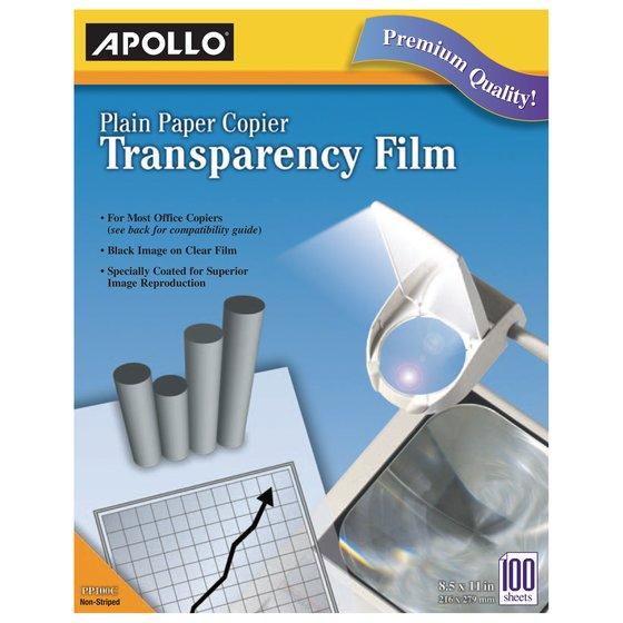 Apollo® Plain Paper Copier Films
