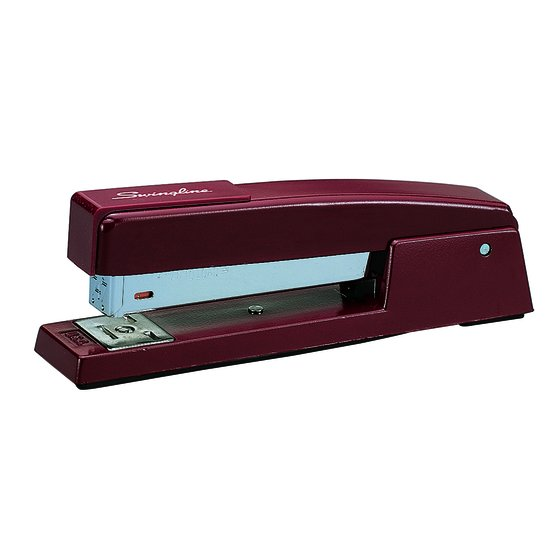 Swingline 747 Classic Stapler, 20 Sheets, Lipstick Red