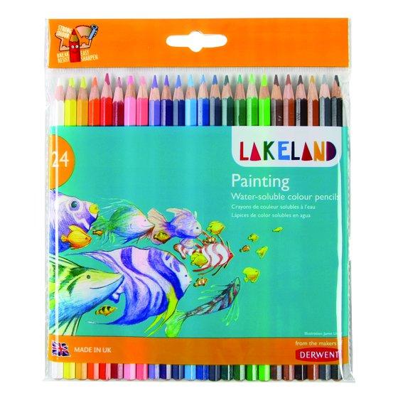 Lakeland Painting Pencils 24 Wallet