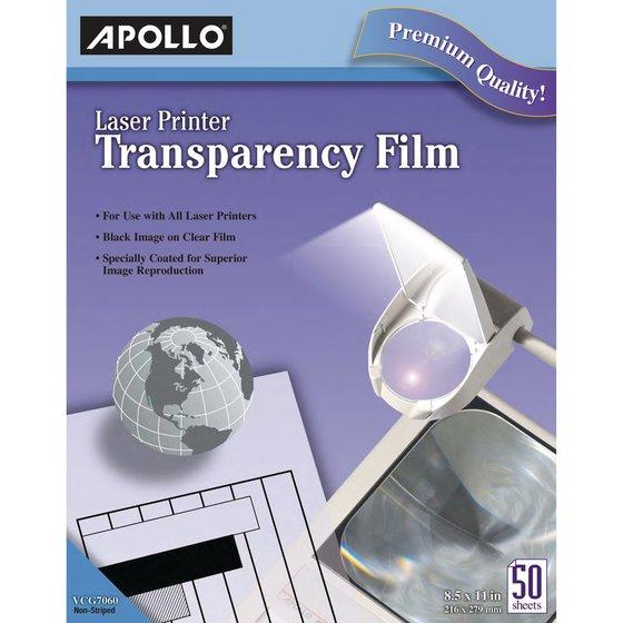 Apollo® Laser Jet Printer and Copier Films