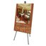 """Quartet® Heavy-Duty Instant Easel®, 63"""", Supports 10 lbs., Tripod Base"""