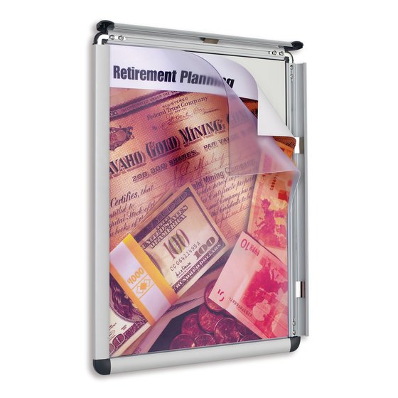 Quartet® Improv™ Clip Frame Signs, Vertical or Horizontal Mount
