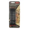 Tinted Charcoal Pencils Blister