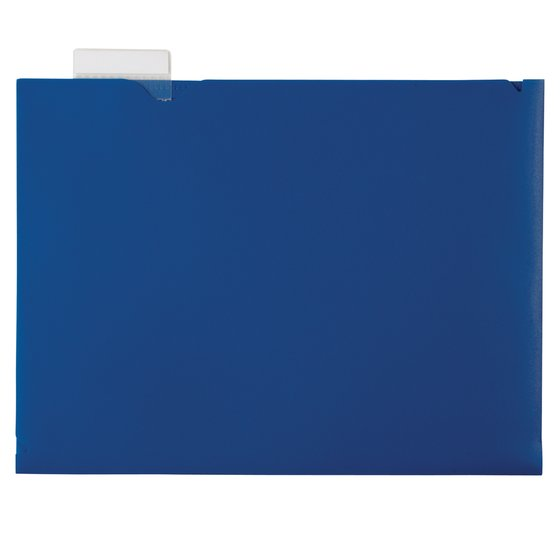 Wilson Jones® Project Sleeve, Horizontal Orientation, 20 Sheets, Assorted Colors
