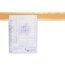 """Bulletin Border, Natural Cork Surface, 48"""" x 5"""", Oak Finish Frame"""
