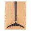 Quartet® Over-the-Door Hook, Double Posts, 1 Hanger Included, Black