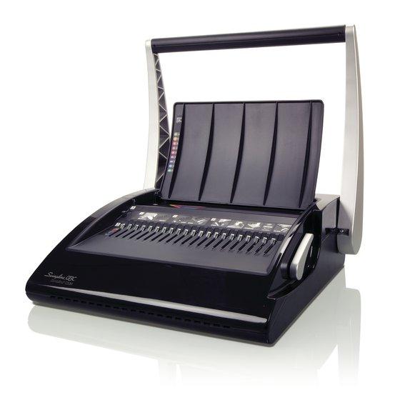 Swingline GBC CombBind C20 Manual Binding Machine, Binds 330 Sheets, Punches 20 Sheets