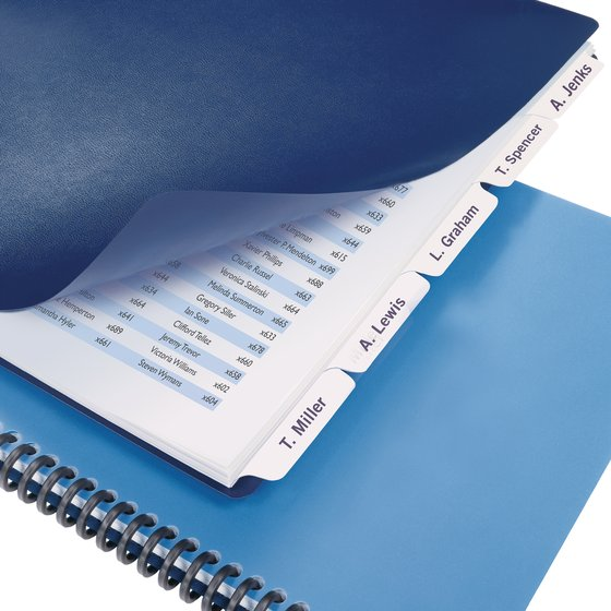 Swingline® GBC® Customizable Index Tabs