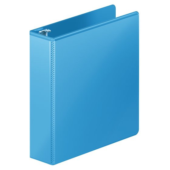 "Wilson Jones® Heavy Duty D-Ring View Binder with Extra Durable Hinge, 2"", Light Blue"