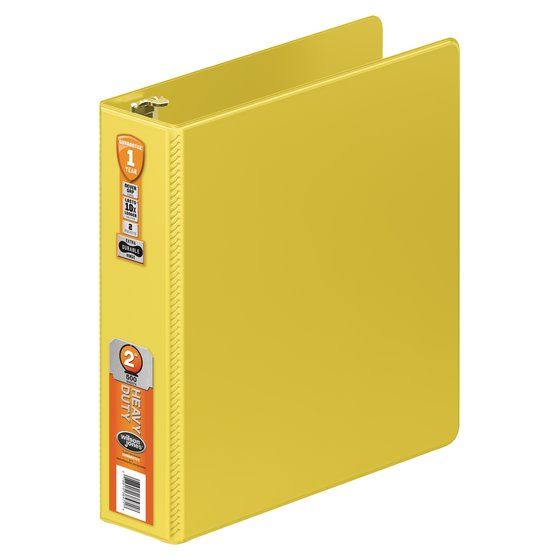 Wilson Jones® Heavy Duty Round Ring Binder with Extra Durable Hinge, 2""