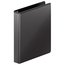 """Wilson Jones Ultra Duty Round Ring View Binder with Extra Durable Hinge, 1"""", Black, 12 Pack"""
