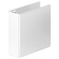 """Wilson Jones Ultra Duty D-Ring View Binder with Extra Durable Hinge, 3"""", White, 8 Pack"""